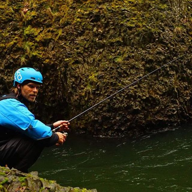"""Andy, I think the fish know..."" had a great time kayak-fishing the other day despite catching a whole lot of nothing🐟😎 . . . . . #inwaterwelive #fishing #drysuit #kayaking #kayakfishing #cleverfish #weareoutthere #weareouttherefishing 📸 @boofstroke"