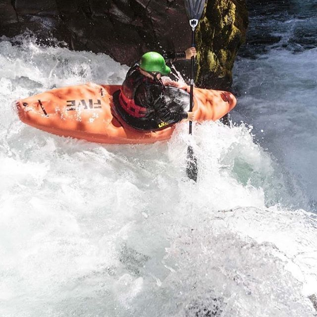 The next gen is boof ready💪 . . . . . . #inwaterwelive #weareouthere #whitewater #waterfall #kayaking #boof