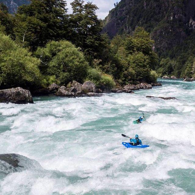 Casa del Piedra. . . . . . . #inwaterwelive #weareoutthere #kayakchile #whitewater #futaleufu #chile #kayaking