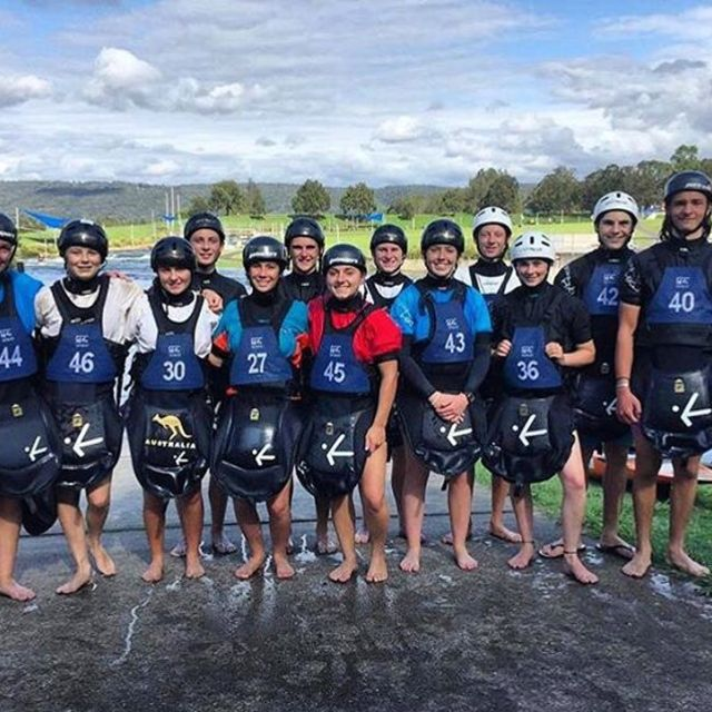 The Aussie junior slalom team makes us happy:) 🙏thank you all for rocking the Jackpot and good luck in the season!!! #inwaterwelive . . . . #jackpot777 #canoeslalom #downunder